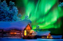 Special Hotels to observe the northern lights.