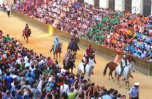 Il Palio de Siena, a festival of two days every year.