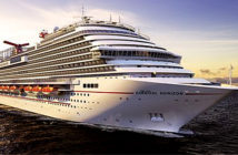 Carnival Horizon, the 133,500-ton carries a maximum of 4,980 passengers. Image Credit: Chris Owen for USA Today, 2018.