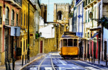 Lisbon - Express visit to the capital of Portuguese nostalgia among baroque palaces and popular neighborhoods, always aboard its classic transport. Image Credit: Shutterstock, 2018.