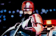 Robocop - Ford has submitted a patent application for a car that could chase down suspects, leaving Robocop redundant - Alamy, 2018.