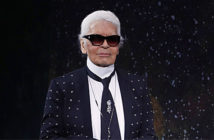 """Karl Lagerfeld 's first makeup collection may not be his last. """"Making women feel beautiful, confident, and happy is part of what we do every day,"""""""