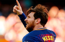 Lionel Messi won in Europe a seven-year legal battle. Image Credit:: AFP.
