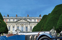 The world's rarest cars at the Hampton Court Palace, in England. AP Associated Press. Image Credit: Concourse of Elegance, 2018.