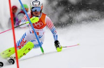 Lindsey Vonn is one of only six women to have won World Cup races in all five alpine skiing disciplines. Image Credit: BBC Sports / Getty Images, 2018.