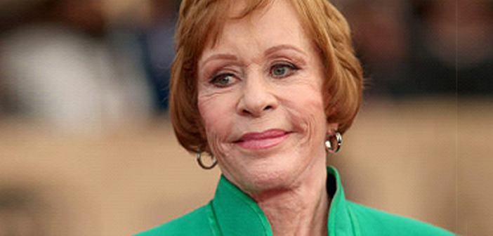"The first ""Carol Burnett Award"" by HFPA."