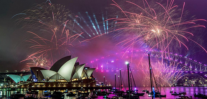New Year Celebrations around the world.