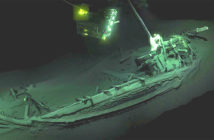 It was find the oldest shipwreck in the world: a ship sunk for 2400 years in the Black Sea. AFP / Image Credit MAP-EFE Expeditions, 2018.