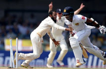 Sri Lanka v England - Jack Leach's run-out of Kusal Mendis proved critical.