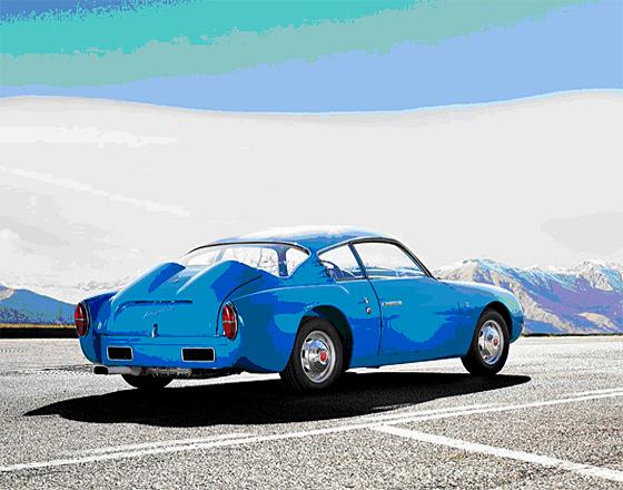 1959 Fiat-Abarth 750 GT 'Double Bubble' Zagato