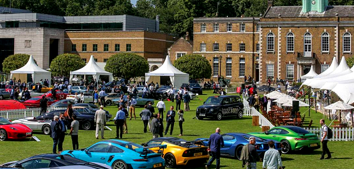 Automotive Garden Party at the heart of London.