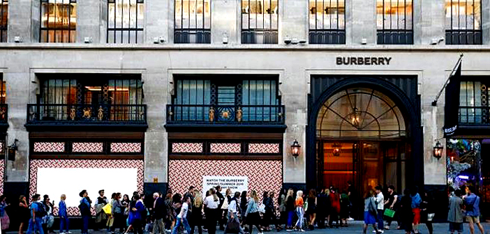 Burberry feels the benefit of rival's good fortune.
