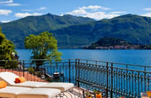 How to see Lake Como in style.. Grand Hotel Tremezzo. Image Credit: Roberto Bonardi, The Times London, UK, 2019.