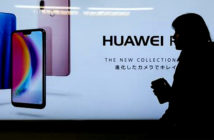 """Huawei security risk is 'manageable', say spy chiefs. Chinese law obliges Chinese companies to co-operate with the state's intelligence agencies, a principle that has sparked fears about """"mandatory back doors"""" in technology exported from Beijing, but Huawei has strongly denied it presents any security risk. Image Credit: Splash News, 2019."""