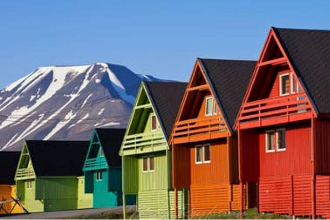 Longyearbyen, where the Law forbids dying.