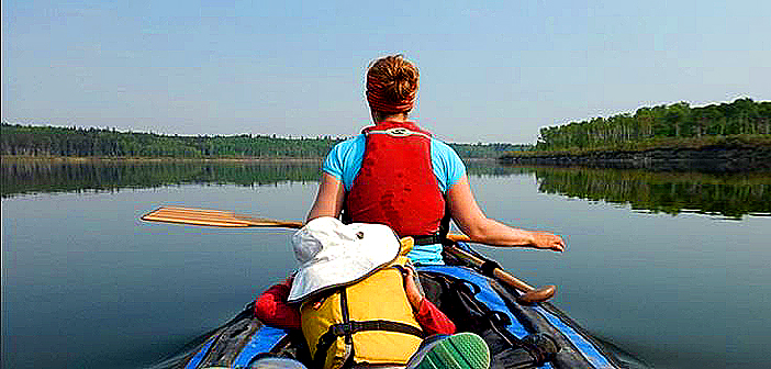 Five-month canoe trip with a five-year-old.