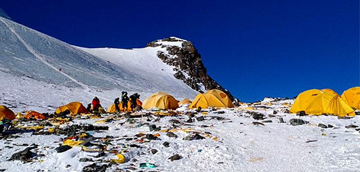 New rules for climbing Everest.