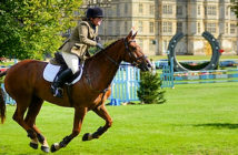 Burghley's beauty is likely to be lost on the riders. Tabetha Wilson-Smith in action during last year's Burghley Horse Trials. Image redit: John Robertson, 2018.