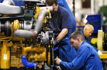 Recession fears after economy shrinks for first time in 7 years. Manufacturing output fell by 2.3 per cent, its worst performance since the financial crisis. Image Credit: Colin McPherson / Corbis via Getty Images, 2019.