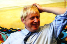 Operation Yellowhammer leak claims by Boris Johnson 'a preposterous smear'. He claimed a group of Remain-supporting ministers wanted to damage Brexit negotiations. Image Credit: Simon Dawson / EPA, 2019.