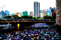 'Tiananmen' crackdown on Hong Kong would hurt trade deal, accoding to Donald Trump statement. Alamy for The Times, London, UK, 2019.