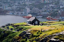 St. John's The Capital of Kindness. The view of St. John's from Signal Hill, Newfoundland, Canada. Image Credit: Jennifer Roberts, 2019.