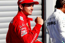 Charles Leclerc took the pole position in the Belgian Grand Prix. he Monegasque was the fastest with his Ferrari and will start from the first place in the restart of the activity in the highest category. Image Credit: AFP Agence France Presse, 2019.