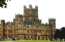 One-Night Stay at Downton Abbey. For one night, the real Downton Abbey, Highclere Castle, is opening its doors to overnight guests Image Credit: Isabel Infantes / / AFP Agence France Presse / Getty Images, 2019.