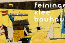 At the Utermann: An exhibition celebrating Bauhaus' cetenerary highlighting the two artists Paul Klee and Lyonel Feininger. The exhibtion will be shown in New York, Dortmund and Vienna. Image Credit: Gallery Utermann, Dortmund, Germany, 2019.