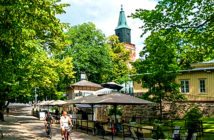 A different weekend in Turku, Finland. Ever heard of Turku? I have to admit I hadn't. Yet it offers the perfect combination of city, nature and break, allowing you to explore art, architecture and Finland's oldest castle. Image Credit: The Times, London, UK, 2019.