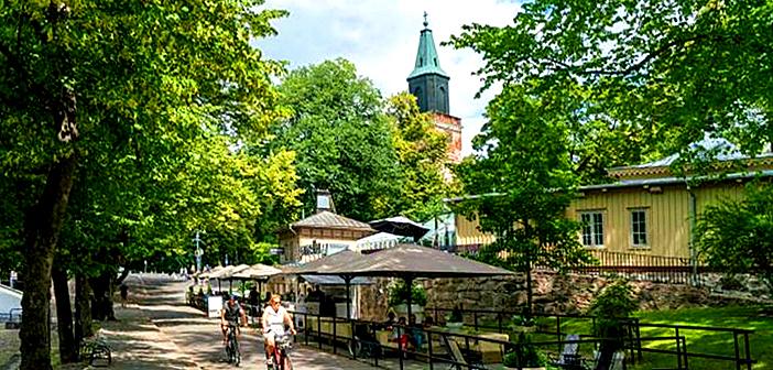 Different weekend in Turku, Finland.