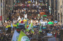 """Friday for the future"" World March for Climate. Thousands march in Brussels. Image Credit: AP Associated Press, 2019."