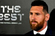 Lionel Messi wins the best FIFA Player of the Y.ear award. Image Credit: FIFA 2019.