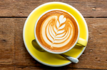 The health benefits of coffee, everything you need to know. A small cappuccino contains about 80 calories and a large about 250 / Image Credit: Getty Image, 2019.