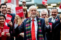 Labour launches 'tax-and-spend' manifestó. £83bn tax raid is 'not credible', says IFS. Image C
