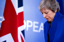 Brexit vote must be put on hold, MP's warns Theresa May. Theresa May has been told that she faces another heavy defeat in parliament if she fails to secure concessions from Brussels. Image Credit: Jasper Juinen / Bloomberg / Getty Images, 2019.