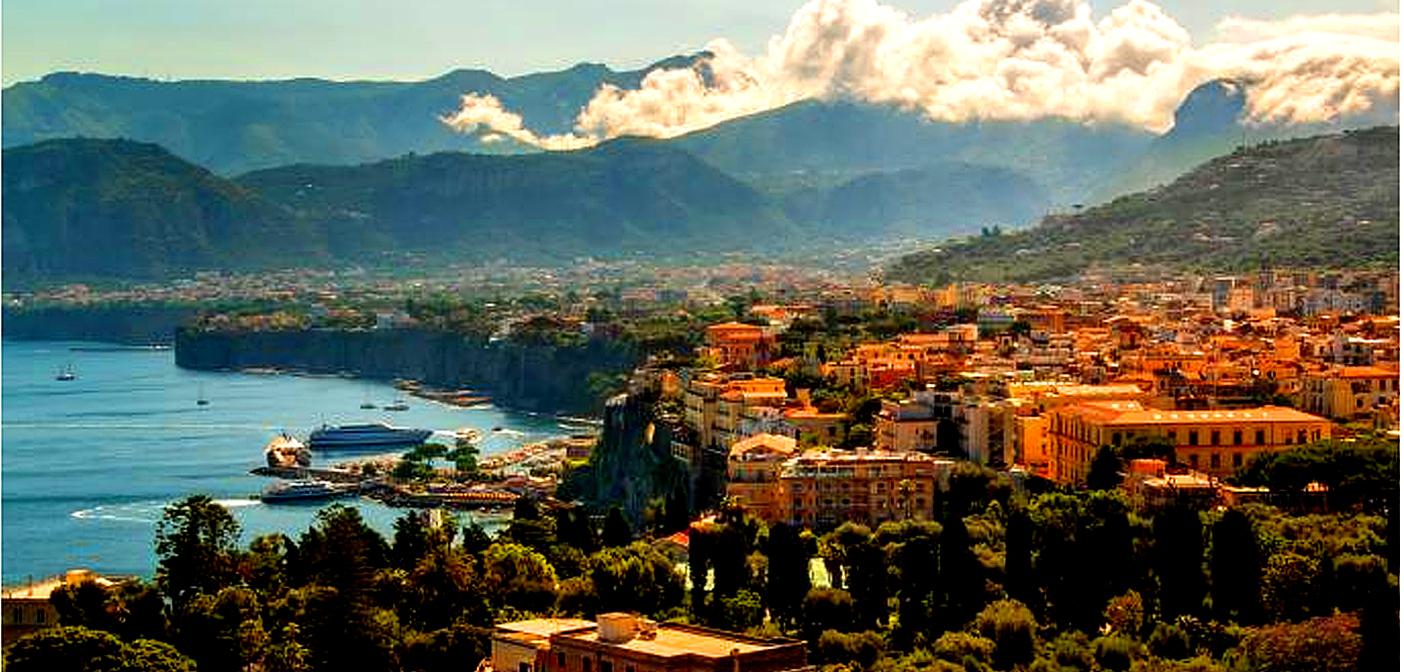 Walk in Ferrante's footsteps in Naples.