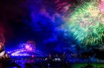 Welcome 2020! Sydney, Australia. Fireworks explode over Sydney Harbor during New Year's Eve celebrations. Image Credit: David Moir EFE / EPA, 2017..