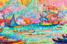 Impressionist-Modern Auction in New York.Paul Signac's oil on canvas La Corne d'Or (Constantinople) (The Horn of Gold [Constantinople]) sold for $16.2 million.. Courtesy Sotheby's, 2019.
