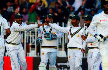 Pakistan is safe and ready to host England and Australia, says Ehsan Mani. Test cricket has returned to Pakistan for the first time in a decade. Image Credit: Aamir Qureshi / AFP Agence France Presse, via Getty Images, 2019.
