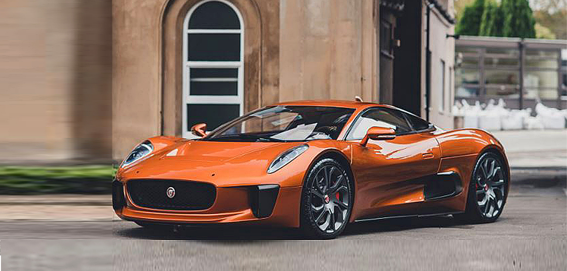 Jaguar C-X75 'Spectre' at Abu Dhabi.