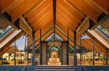Inside Kengo Kuma's stunning new project in Phuket, Thailand. Image Credit: Courtesy of Aman Resorts, 2020.