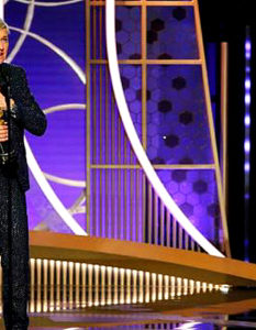 Top Awards at Golden Globes. Kate McKinnon, right, praised Ellen DeGeneres before presenting her with a lifetime achievement award. Credit...Paul Drinkwater/NBC