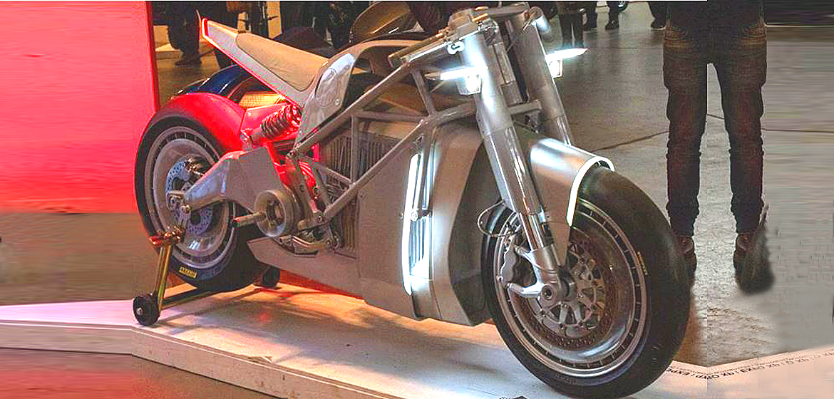 Style, Craft and Commerce at One Motorcycle Show.