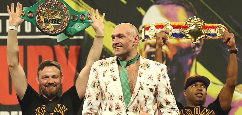 Tyson Fury stunned the world.