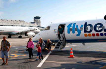 Flybe collapses as coronavirus hits bookings. The budget airline serves almost 200 routes across the UK and Europe. Image Credit: Alamy, 2020.