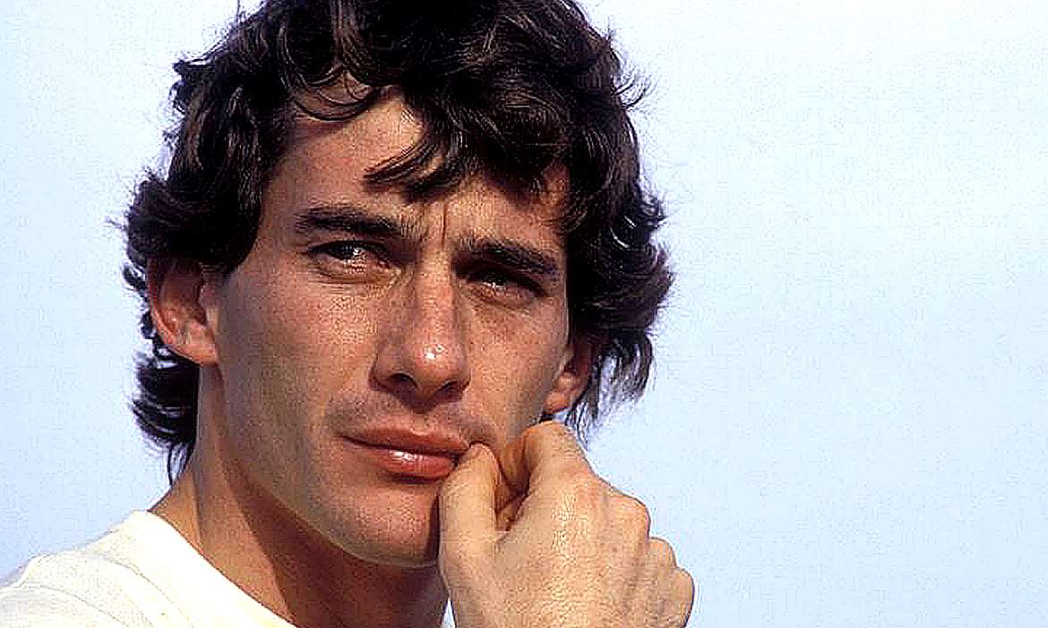 Ayrton Senna: 60 years old. Senna's great drives trip off the tongue. Image Credit: From the Motor Sport Archive, 2020.