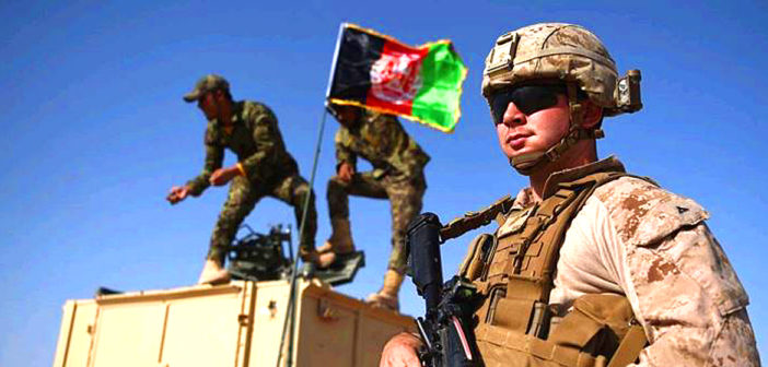 US pulls troops out of Afghanistan.