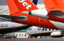 Easyjet's Rebecca Lawrence is putting on scrubs this week to do her bit at London's new temporary hospital, 'My cabin crew job's on hold — but I'm off to fight the coronavirus in NHS Nightingale' . Image Credit: Paul Marriott , 2020.
