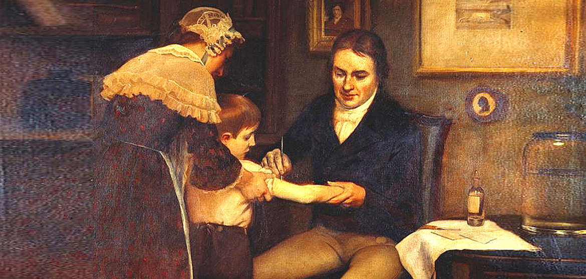 Who discovered the first vaccine?